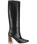 Marni「Marni - チャンキーヒール ブーツ - women - ナッパレザー/レザー - 36(Boots)」