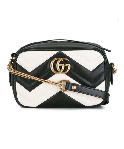 e523c686c7c5 Gucci(グッチ)の「Gucci - Ggマーモント ショルダーバッグ - women - カーフレザー - ワンサイズ(ショルダーバッグ)」 -  WEAR