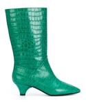 Marni「Marni - エンボス ブーツ - women - レザー - 40(Boots)」