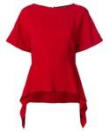 "Proenza Schouler Shirts ""Proenza Schouler - ラッフルヘム ブラウス - women - アセテート/ビスコース - 4"""