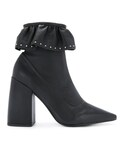 Senso「Senso - Zayra I ラッフルブーツ - women - ポリウレタン/Kid Leather/Synthetic Resin - 42(Boots)」