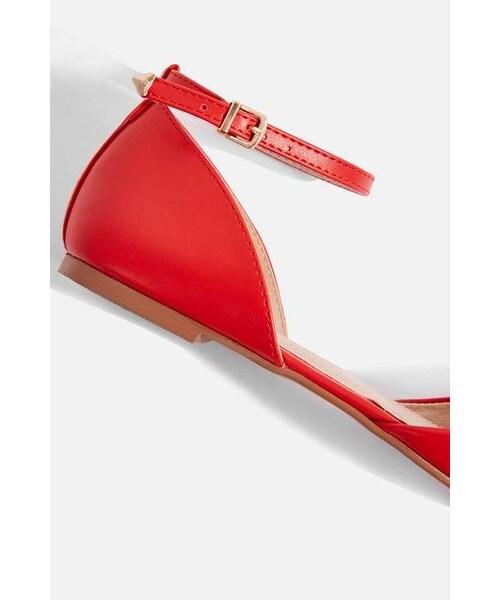 433ebd2606c Topshop(トップショップ)の「Topshop Annie pointed shoes(シューズ ...