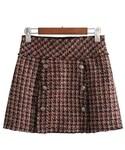 "ZARA Skirt ""ツイードスカート  コーデ チェック"""