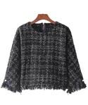 ZARA「ツイード トップス セットアップ スカート(Knitwear)」