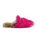 Gucci「Gucci - プリンスタウン フラットミュール - women - メリノウール/レザー/Lamb Fur/metal - 38(Other Shoes)」