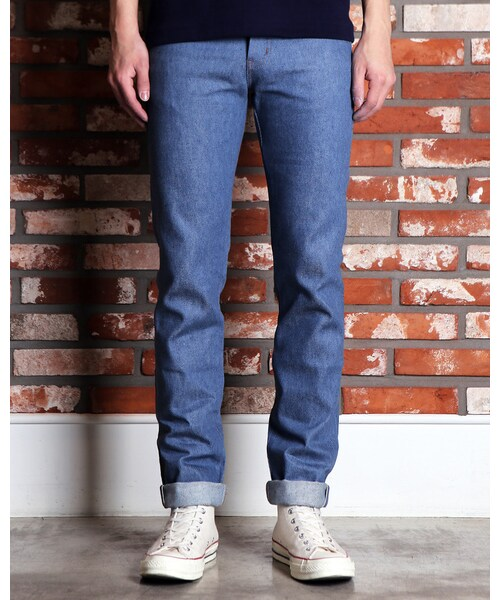 NAKED & FAMOUSE DENIM,SuperSkinnyGuy Recycled Yarn Selvedge - WEAR