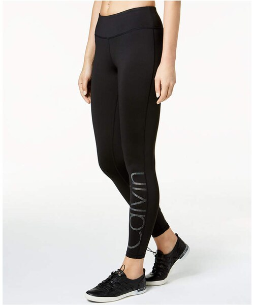 d07095e838 Calvin Klein,Calvin Klein Performance Gradient-Dot Logo Leggings - WEAR