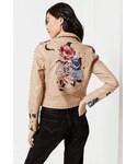 Blank NYC「BLANKNYC Natural Romance Studded Moto Jacket(Riders jacket)」