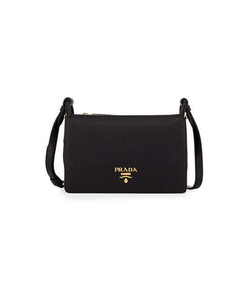 03c2f65bc82b Prada,Prada Vitello Daino Double-Gusset Shoulder Bag - WEAR