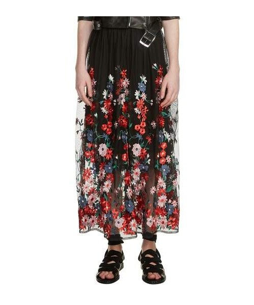 96a355c13c Maje,maje Jamie Embroidered Maxi Skirt - WEAR