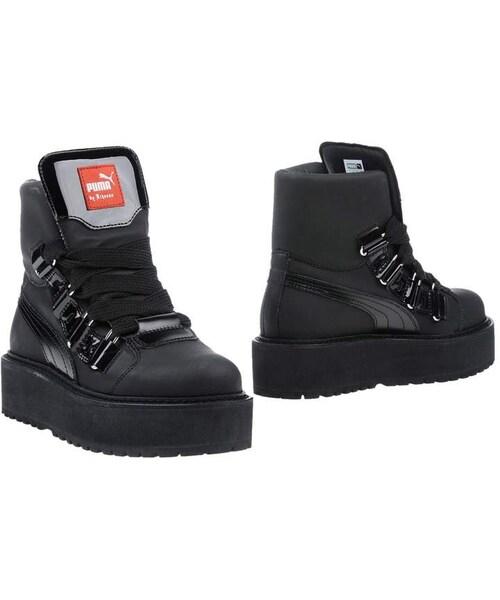 9ee1ac5890c FENTY PUMA by Rihanna(フェンティプーマバイリアーナ)の「FENTY PUMA by RIHANNA Ankle  boots(ブーツ)」 - WEAR