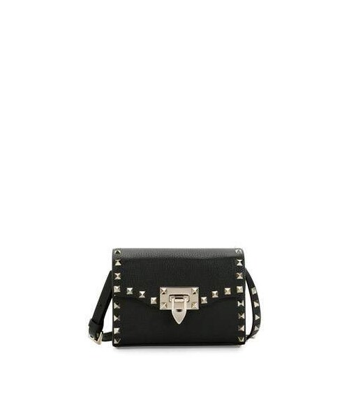 80a813246aa Valentino,Valentino Garavani Small Rockstud Flap Shoulder Bag - WEAR