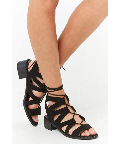 Lace Sandals 21 forever 21 Wear Up Forever Gladiator KuTl3F1Jc5