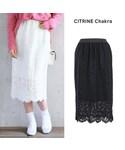 CITRINE Chakra(シトリンチャクラ)の「レースタイトスカート(スカート)」