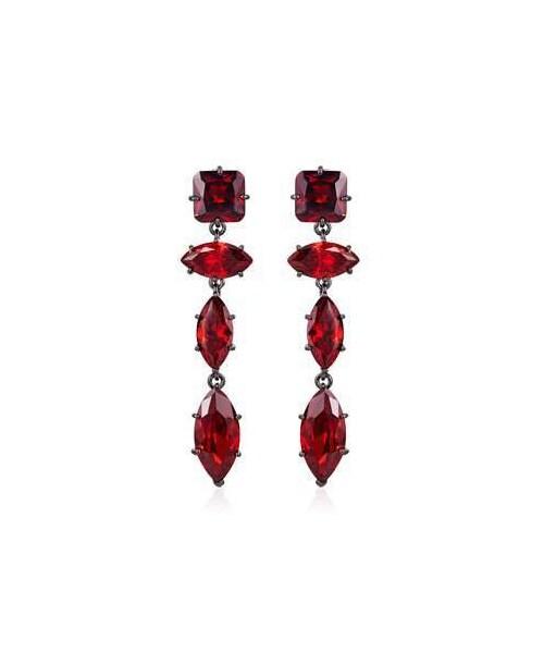a1142803e Fallon,Fallon Jagged Edge Marquise Crystal Drop Earrings - WEAR
