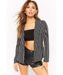 "Forever 21 Tailored jacket ""Forever 21 Lightweight Striped Blazer"""