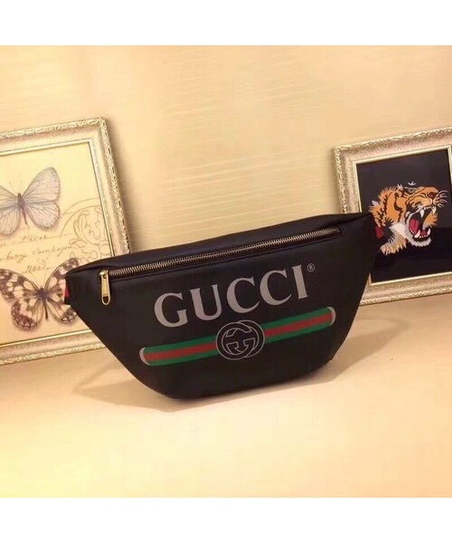 new concept 8edef 59c60 GUCCI(グッチ)の「グッチ バッグ キャンバス 斜め掛け ...