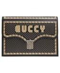 "Gucci Clutch ""Gucci Guccy Logo Moon & Stars Envelope Clutch"""