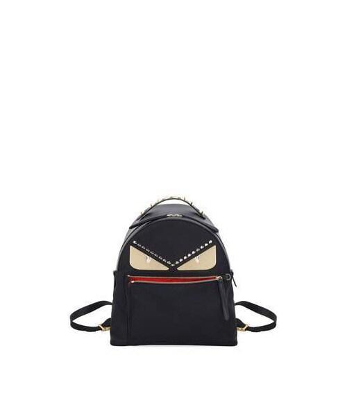 6733c1bdd1c Fendi,Fendi Monster Eyes Nylon & Leather Backpack - WEAR