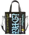 Balenciaga(バレンシアガ)の「Balenciaga Bazar XXS Graffiti Lambskin Tote Bag(トートバッグ)」