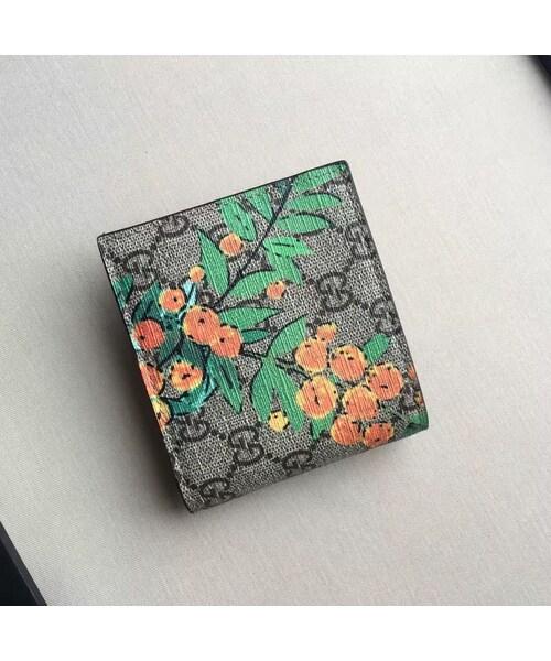 brand new b407b a9dd0 GUCCI(グッチ)の「グッチ GUCCI 財布 レディース 二つ折り財布 ...