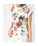 INTERPLANET(インタープラネット)の「アンティークフラワーTシャツ 10134054(Tシャツ・カットソー)」
