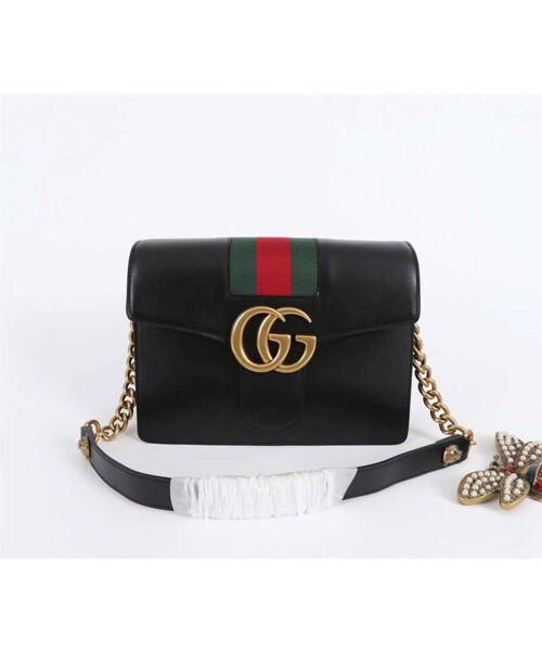 competitive price 8d3e2 7a7bc GUCCI(グッチ)の「グッチ GUCCI GG柄 セカンドバッグ グッチ ...