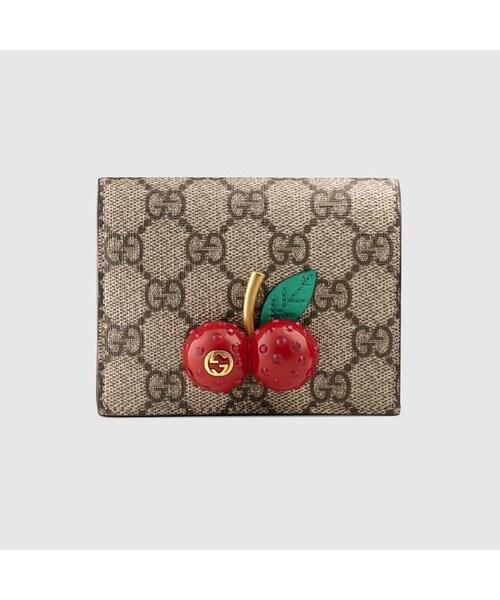 online retailer f1efc 045f5 GUCCI(グッチ)の「グッチ GUCCI wallet ウォレット 財布 二 ...