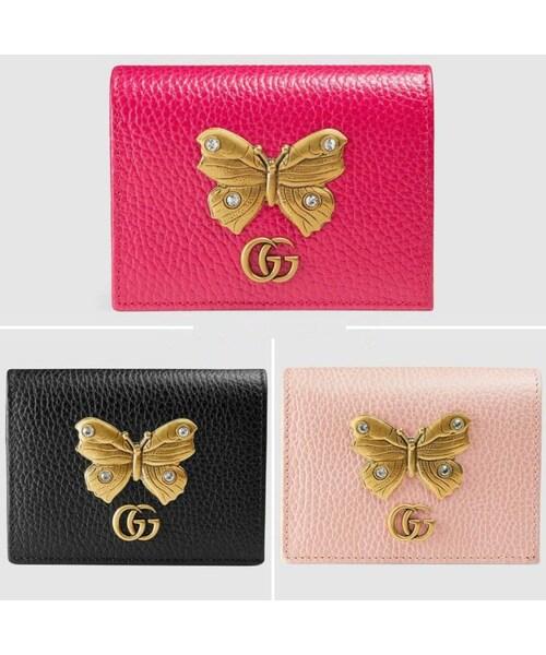 online retailer 27d52 343d5 GUCCI(グッチ)の「グッチ GUCCI wallet ウォレット 財布 二 ...
