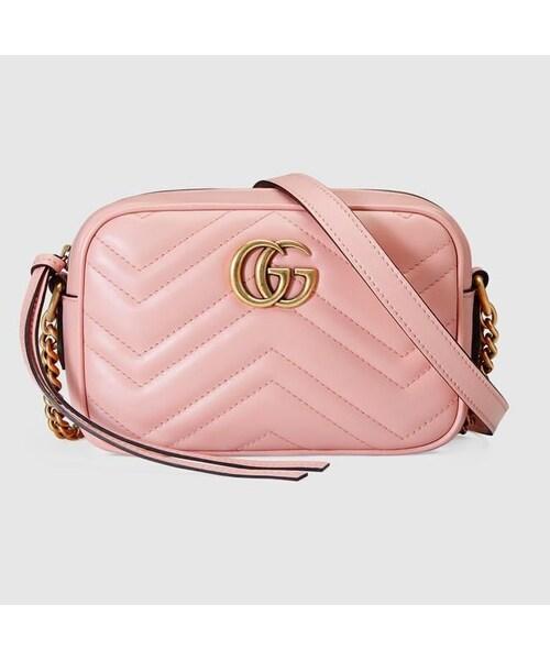 832b060d936c GUCCI(グッチ)の「GUCCI BAG グッチ GGマーモント キルティング バッグ ショルダーバッグ ポシェット ミニバッグ レディース 斜め掛け バッグ 4色(財布)」 - WEAR