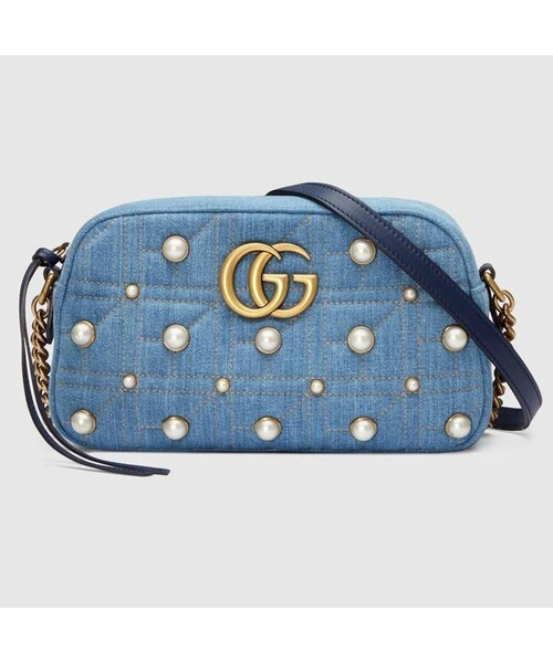 buy popular 8b37d 67fb4 GUCCI(グッチ)の「GUCCI BAG グッチ GGマーモント ...