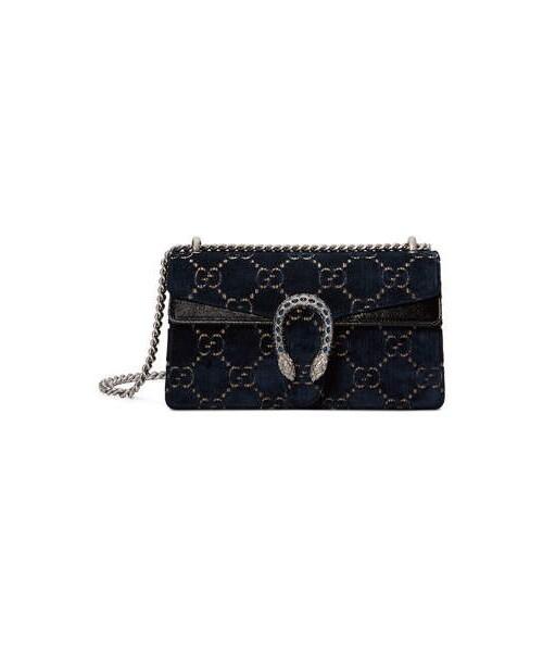 11809658626cb1 Gucci,Gucci Dionysus Small Velvet GG Supreme Shoulder Bag - WEAR