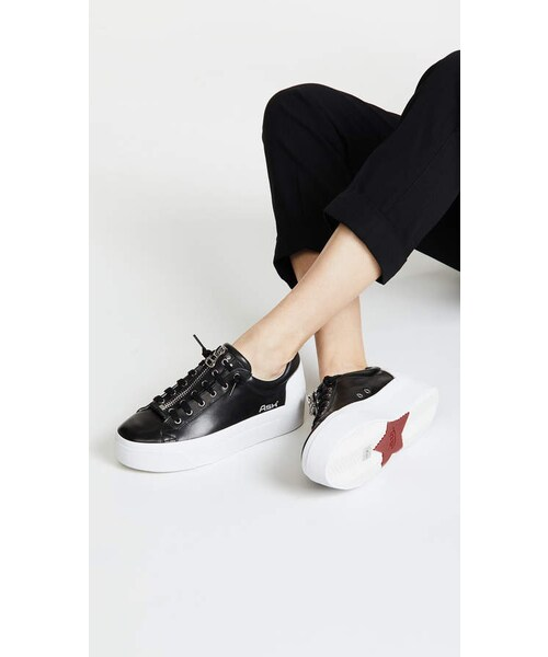 c60d348b58bd Ash buzz platform sneakers wear jpg 500x600 Buzz platform