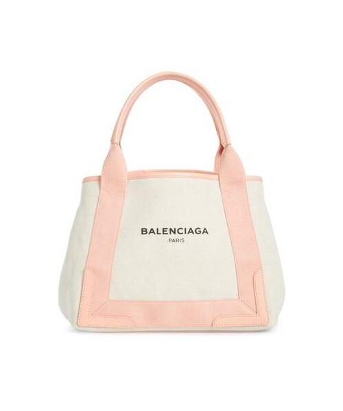 b93e54f3003d Balenciaga(バレンシアガ)の「Balenciaga Small Cabas Canvas Tote(トートバッグ)」 - WEAR