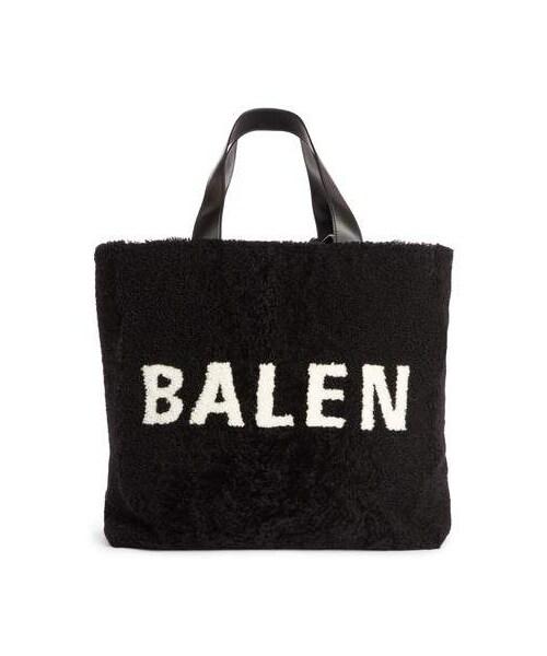 84afba3c2b6c Balenciaga(バレンシアガ)の「Balenciaga Logo Genuine Shearling Tote(トートバッグ)」 - WEAR