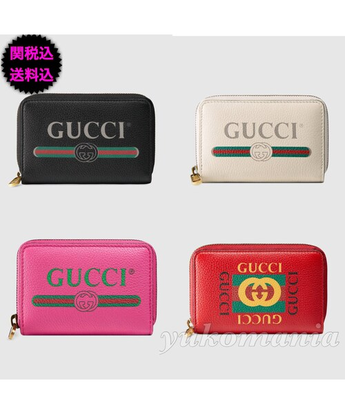 purchase cheap 8cd6e 6bd9c GUCCI(グッチ)の「新作 GUCCI 〔グッチ プリント〕レザー ...