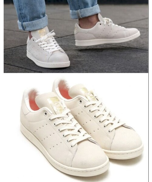 separation shoes 66958 07d52 GUCCI(グッチ)の「adidas STAN SMITH BA7441 ベージュ x ...