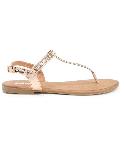 6c5bb49aa2321 「Forever 21 Faux Patent Leather Rhinestone-Embellished Sandals」