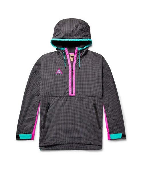 4f0f8ed91189 「Nike Acg Colour-Block Nylon-Blend Ripstop And Shell Hooded Jacket」