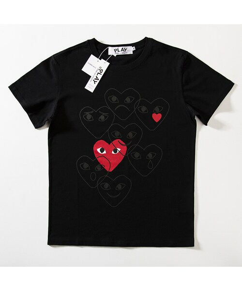 dc7e959b31a5 GUCCI(グッチ)の「COMME des GARCONS コムデギャルソン (PLAY) tシャツ 半袖 mio021(Tシャツ・カットソー)」 -  WEAR
