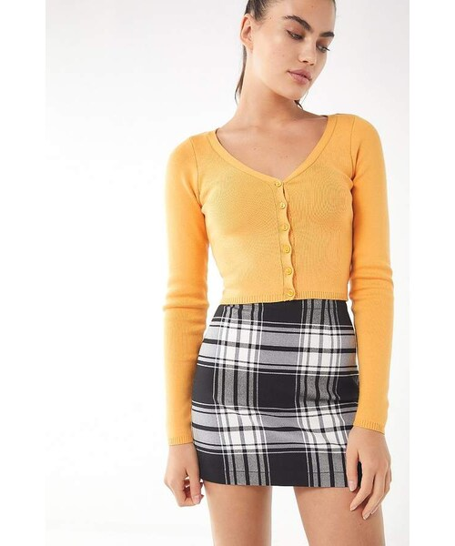 e94d066a3 Urban Outfitters,Urban Outfitters UO Out To Play Plaid Mini Skirt - WEAR