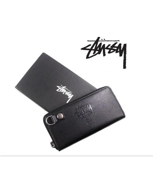 new photos 36825 fce3e adidas(アディダス)の「新品1003 STUSSY ファッション 長財布 ...