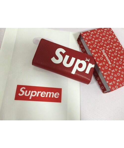 on sale fb587 d9279 adidas(アディダス)の「新品8302 supreme&LV シュプリーム 長 ...