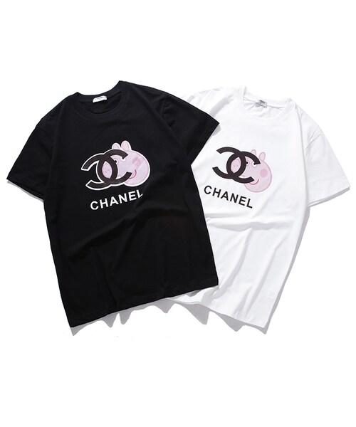 the latest 877c7 6b434 adidas(アディダス)の「新品8635 Chanel Tシャツ トップス ...