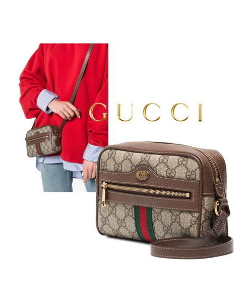 new style ce27d 69631 GUCCI(グッチ)の「New☆GUCCI☆オフィディアGGスプリームミニ ...