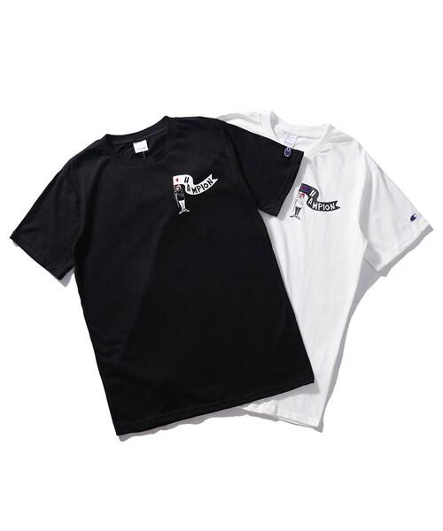 new product a224d f06a3 GUCCI(グッチ)の「新品D60 Champion チャンピオン Tシャツ ...