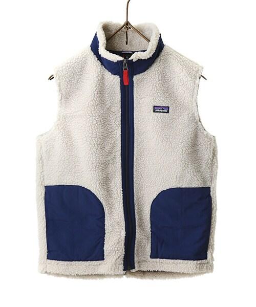 patagonia パタゴニア の レディース kid s retro x vest