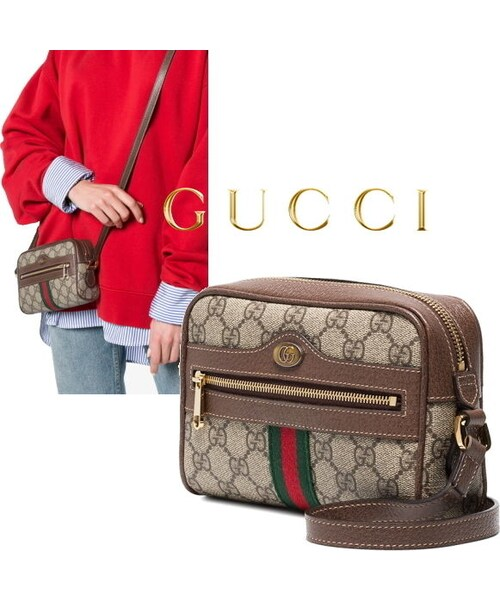 new style 3efac 6cf1f GUCCI(グッチ)の「New☆GUCCI☆オフィディアGGスプリームミニ ...