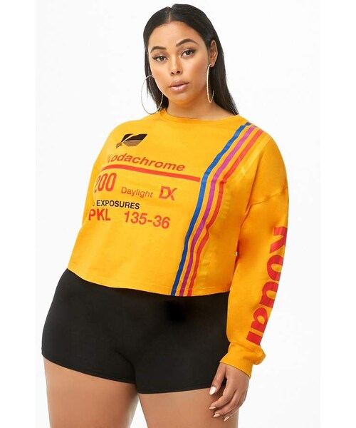 a1a46b4a7 Forever 21,Forever 21 Plus Size Kodak Graphic Top - WEAR