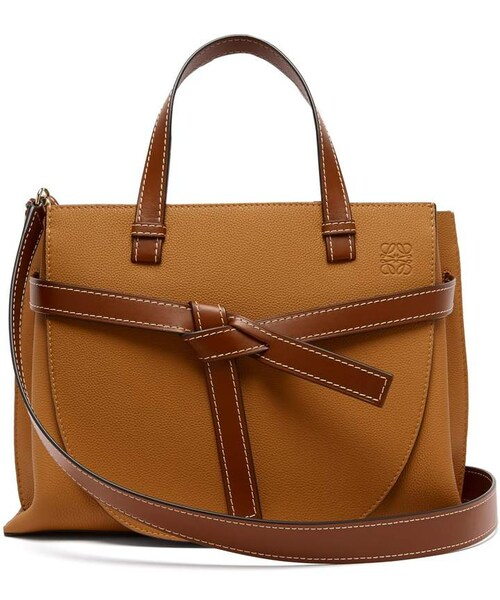 online retailer 77152 f39cf Loewe(ロエベ)の「LOEWE Gate top-handle leather bag(トート ...